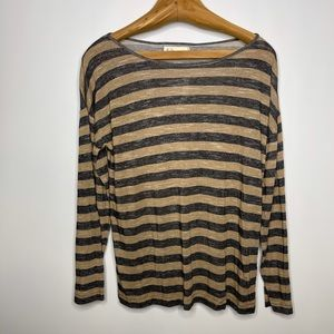 Hi Line by Madewell Long Sleeve Top Large